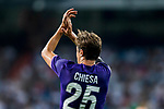 Federico Chiesa of ACF Fiorentina reacts during the Santiago Bernabeu Trophy 2017 match between Real Madrid and ACF Fiorentina at the Santiago Bernabeu Stadium on 23 August 2017 in Madrid, Spain. Photo by Diego Gonzalez / Power Sport Images