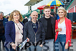 Catrion, Dan and Timmy Browne Scartaglen and Michelle Coffey Castleisland at  the Killarney races on Sunday