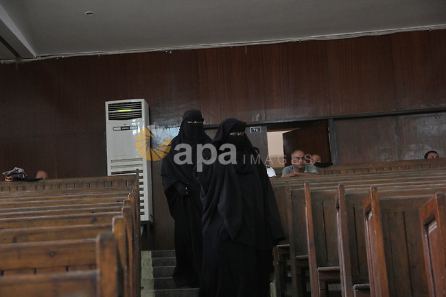Relatives of Ansar Bait Al-Maqdis group attend their trial in Cairo on Oct. 13, 2015, on charges of assassination of police officers, attempted assassination of interior minister Mohamed Ibrahim and explosions near security facilities to July 4. Photo by Amr Sayed