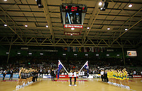 16.11.2007 The Silver Ferns v Australia Final at the New World Netball World Champs held at Trusts Stadium Auckland New Zealand. Mandatory Photo Credit ©Michael Bradley.