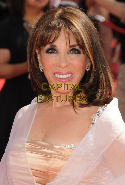 KATE LINDER.62nd Annual Primetime Emmy Awards held at NOKIA Theatre Los Angeles, California, USA. .29th August 2010.headshot portrait white sheer eyeliner.CAP/ADM/BP.©Byron Purvis/AdMedia/Capital Pictures.