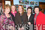 8792-8796.---------.Social.------.Enjoying the abbeyfeale coursing club annual social in the GAA clubhouse Abbeyfeale last saturday night were L-R Maura Scannell,Catriona sheeran,Pia Scannell,Maureen hartnett and Shelia Brouder.