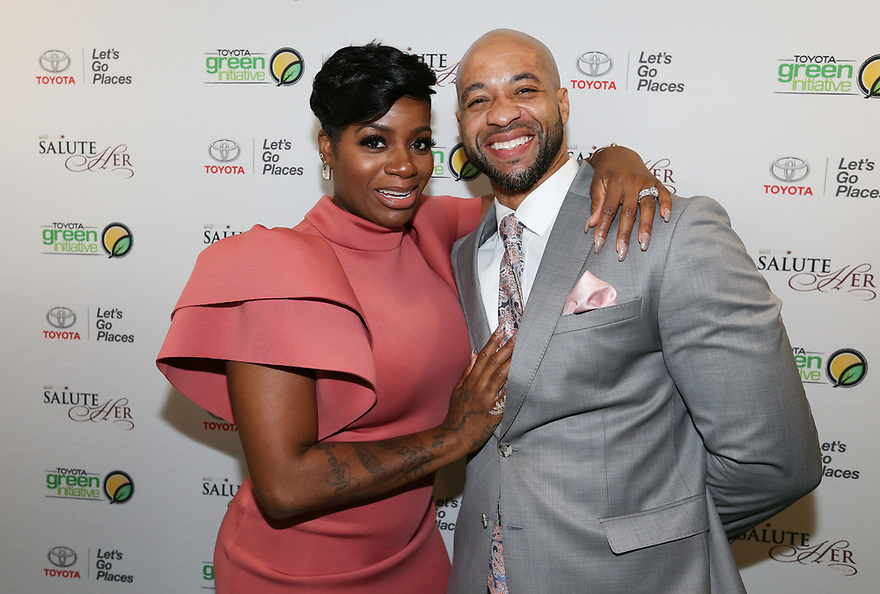 Soul Solidarity Award Honoree Fantasia Barrino-Tyalor and husband Kendall Taylor attend the Salute Her Awards sponsored by Toyota and AARP in Charlotte.