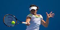 Samantha Stosur (AUS) (13) against  Kristina Barrois (GER) in the Second Round of teh Womens Singles. Stosur beat Barrois 7-5 6-3..International Tennis - Australian Open Tennis - Thur 21 Jan 2010 - Melbourne Park - Melbourne - Australia ..© Frey - AMN Images, 1st Floor, Barry House, 20-22 Worple Road, London, SW19 4DH.Tel - +44 20 8947 0100.mfrey@advantagemedianet.com