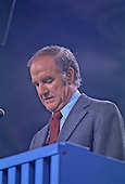 United States Senator George McGovern (Democrat of South Dakota) accepts the 1972 Democratic Party nomination for President of the United States at the party convention at the Miami Beach Convention Center in Miami, Florida on Thursday, July 13, 1972..Credit: Arnie Sachs / CNP