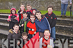 Tarbert fans at the start of the North Kerry Senior Football Final between Listowel Emmets and Tarbert held last Sunday in Bob Stack Park, Ballybunion.