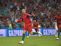Weltmeisterschaft 2018 in Rußland / Portugal - Spanien / 15.06.2018 / Cristiano Ronaldo jubelt nach seinem 3. Tor zum 3:3 *** World Cup 2018 in Russia Portugal Spain 15 06 2018 Cristiano Ronaldo cheers for his 3 goal to 3 3 HM  <br /> Ekaterinburg 15-06-2018 Football FIFA World Cup Russia  2018 <br /> Spain - Portugal / Spagna - Portogallo <br /> Foto Imago/Insidefoto