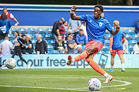 Huddersfield Town's Terence Kongolo during the pre-match warm-up w<br /> <br /> Luke Brennan/CameraSport<br /> <br /> The EFL Sky Bet Championship - Queens Park Rangers v Huddersfield Town - Saturday 10th August 2019 - Loftus Road - London<br /> <br /> World Copyright © 2019 CameraSport. All rights reserved. 43 Linden Ave. Countesthorpe. Leicester. England. LE8 5PG - Tel: +44 (0) 116 277 4147 - admin@camerasport.com - www.camerasport.com