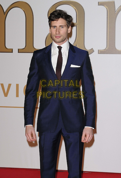 LONDON, ENGLAND - JANUARY 14: Edward Holcroft attends the &quot;Kingsman: The Secret Service&quot; world film premiere, Odeon Leicester Square cinema, Leicester Square, on Wednesday January 14, 2015 in London, England, UK. <br /> CAP/CAN<br /> &copy;Can Nguyen/Capital Pictures