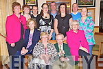 Enjoying the Supper Club in Darby O'Gills in aid of parkinsons on Saturday night were Jerry and Noreen O'Sullivan, Noreen Ring, Maureen Ring, Marie Ring, Tommy Broderick, Avril and Adrian O'Sullivan, Liz Ring, Tadgh O'Sullivan, Mary O'Sullivan and Caroline O'Donoghue...