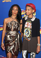 Willow Smith and Jada Pinkett Smith at the NY premiere of Madagascar 3: Europe's Most Wanted at the Ziegfeld Theatre in New York City. June 7, 2012. © RW/MediaPunch Inc. NORTEPHOTO.COM