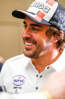 4th January 2020, Jeddah, Saudi Arabia;   Alonso Fernando esp, Toyota Gazoo Ragin, during the press conference in the Hilton Corniche Hotel in Jeddah, Saudi Arabia 4th 2020