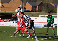 Scott Vernon of Grimsby Town <br /> during the Sky Bet League 2 match between Accrington Stanley and Grimsby Town at the Fraser Eagle Stadium, Accrington, England on 25 March 2017. Photo by Tony  KIPAX / PRiME Media Images.