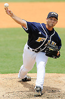 27 April 2008: Florida International pitcher Eric Horstmann (31) throws in relief in the FIU 17-10 victory over Louisiana at Monroe at University Park Stadium in Miami, Florida.