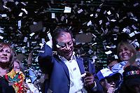 BOGOTÁ - COLOMBIA, 17-06-2018:Gustavo Petro perdió las elecciones con Ivan Duque durante las elecciones para presidente de Colombia  2018 segunda vuelta y definitiva./Presidential elections in Colombia 2018. Photo: VizzorImage / Felipe Caicedo / Satff