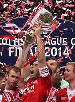 Aberdeen v Inverness Caledonian Thiste, League Cup Final 160314
