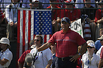 USA Team player Phil Mickelson waits to drive off on the 1st tee during the Singles on the Final Day of the Ryder Cup at Valhalla Golf Club, Louisville, Kentucky, USA, 21st September 2008 (Photo by Eoin Clarke/GOLFFILE)