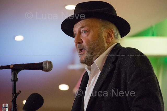 George Galloway MP (British politician, writer, and broadcaster, and the Respect Party Member of Parliament for Bradford West).<br />
