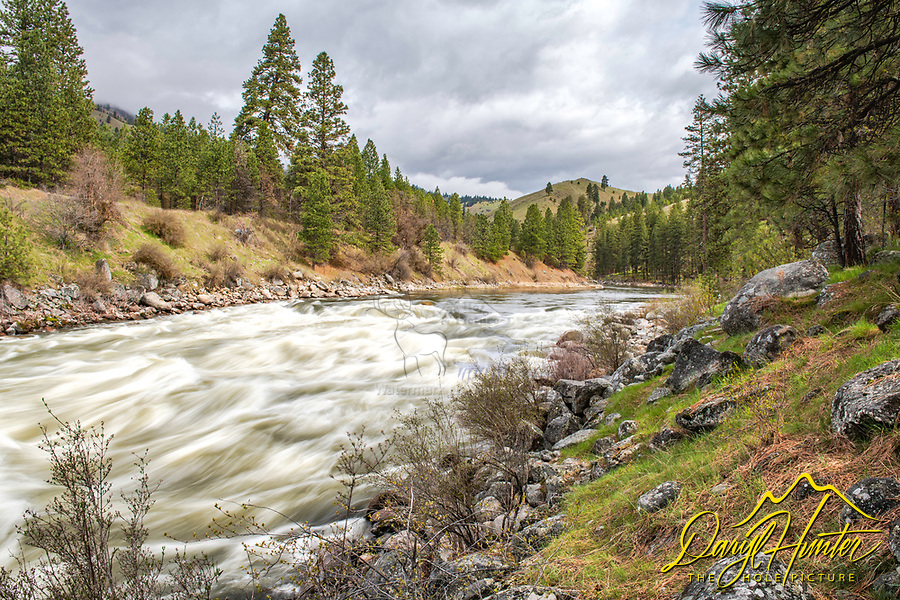The Payette River and the Boise National Forest.