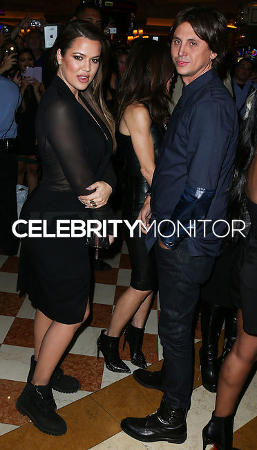 LAS VEGAS, NV, USA - OCTOBER 25: Khloe Kardashian, Jonathan Cheban arrive at Kim Kardashian West's 34th Birthday Celebration held at TAO Nightclub at The Venetian Las Vegas on October 25, 2014 in Las Vegas, Nevada, United States. (Photo by Xavier Collin/Celebrity Monitor)