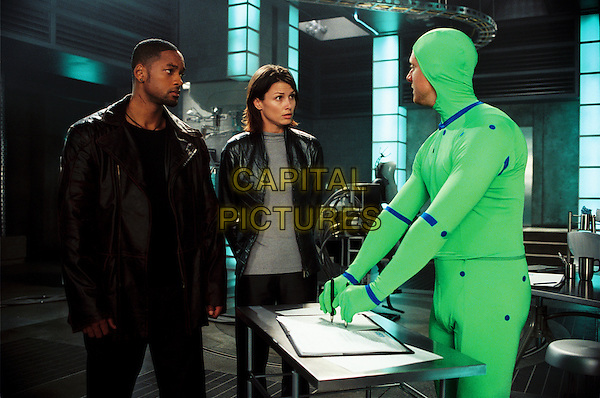 Will Smith & Bridget Moynahan.in I, Robot.*Filmstill - Editorial Use Only*.CAP/NFS.Supplied by Capital Pictures.