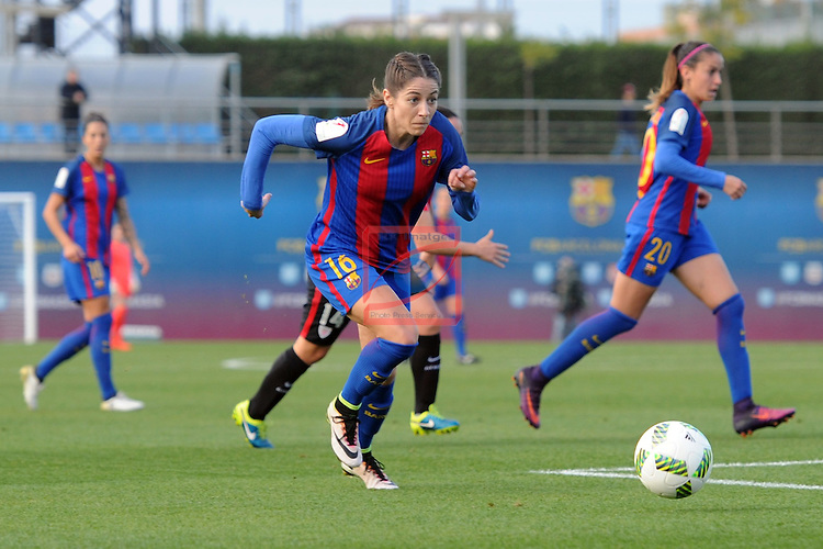 Spanish Women's Football League Iberdrola 2016/17 - Game: 11.<br /> FC Barcelona vs Athletic Club: 2-1.<br /> Vicky Losada.