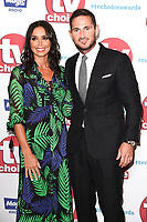 Chrisatine Bleakley and Frank Lampard<br /> arriving for the TV Choice Awards 2017 at The Dorchester Hotel, London. <br /> <br /> <br /> &copy;Ash Knotek  D3303  04/09/2017