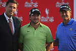 Graeme McDowell and Retief Goosen joint 3rd place at the end of the Final Day Sunday of the Abu Dhabi HSBC Golf Championship, 23rd January 2011..(Picture Eoin Clarke/www.golffile.ie)