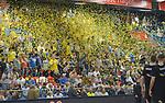 11.04.2018, Arena am Ischeland, Hagen, GER, 2. BBL PRO A, Play-Offs, Phoenix Hagen vs Rasta Vechta, im Bild<br /> <br /> Stimmung Fans Hagen zu Spielbeginn<br /> <br /> <br /> Foto &copy; nordphoto / Treese