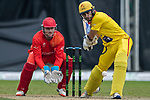 Kyle Coetzer of City Kaitak bats during the DTC Hong Kong T20 Blitz match between HKI United vs City Kaitak on 12 March 2017, in Tin Kwong Road Recreation Ground, Hong Kong, China. Photo by Chris Wong / Power Sport Images