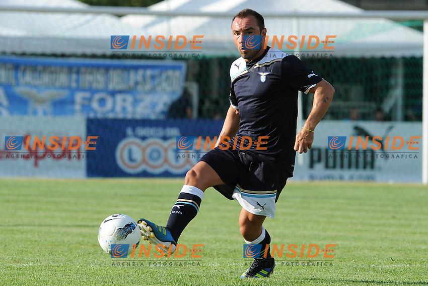 Cristian Brocchi (Lazio).Lazio vs Osasuna  0-1.Amichevole di calcio.Fiuggi, 28/07/2011.Photo Antonietta Baldassarre Insidefoto