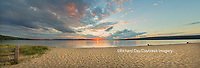 64795-01516 Sunset on South Bay, Lake Superior, Munising, Upper Peninsula, MI