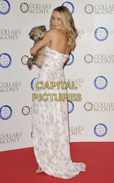 LONDON, ENGLAND ollars &amp; Coats Gala Ball 2014 in aid of Battersea Dogs &amp; Cats Home OCTOBER 30: Amanda Holden attends the Collars &amp; Coats Gala Ball 2014 in aid of Battersea Dogs &amp; Cats Home, Battersea Evolution, Battersea Park, on Thursday October 30, 2014 in London, England, UK. <br /> CAP/CAN<br /> &copy;Can Nguyen/Capital Pictures