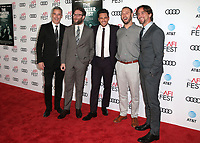 12 November 2017 - Hollywood, California - Vince Jolivette, Seth Rogen, James Franco, Evan Goldberg, James Weaver. &quot;The Disaster Artist&quot; AFI FEST 2017 Screening held at TCL Chinese Theatre. <br /> CAP/ADM/FS<br /> &copy;FS/ADM/Capital Pictures