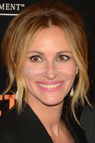 Julia Roberts at the Secret In Their Eyes LA Premiere at the Hammer Museum in Westwood, California on November 11, 2015. Credit: David Edwards/MediaPunch