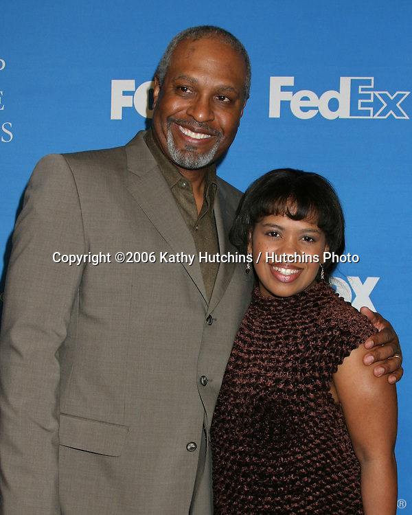 James Pickens Jr.Chandra Wilson .NAACP Image Award Nominees Luncheon.Beverly Hilton Hotel.Beverly Hills, CA.February 11, 2006.©2006 Kathy Hutchins / Hutchins Photo....