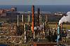 Huntsman Olefins petrochemical industry; manufacturer of ethylene and propylene; Wilton; Teesside; UK