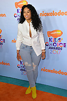 Model Blac Chyna at the Nickelodeon 2017 Kids' Choice Awards at the USC's Galen Centre, Los Angeles, USA 11 March  2017<br /> Picture: Paul Smith/Featureflash/SilverHub 0208 004 5359 sales@silverhubmedia.com