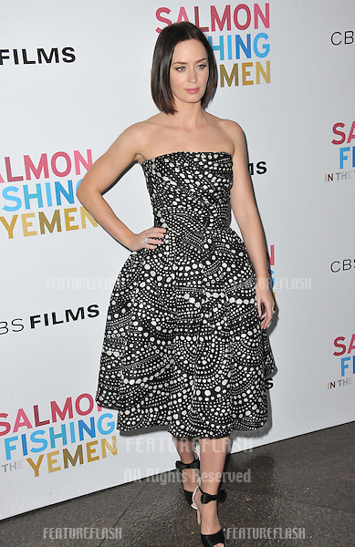 """Emily Blunt at the US premiere of her new movie """"Salmon Fishing in the Yemen"""" at the Directors Guild Theatre, West Hollywood..March 5, 2012  Los Angeles, CA.Picture: Paul Smith / Featureflash"""