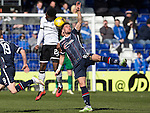 Ross County v St Johnstone…..30.04.16  Global Energy Stadium, Dingwall<br />Alex Schalk and Darnell Fisher<br />Picture by Graeme Hart.<br />Copyright Perthshire Picture Agency<br />Tel: 01738 623350  Mobile: 07990 594431