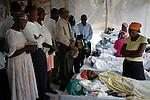 The cholera epidemic in Haiti has already killed 4.500 people and sickened more than 250.000. Centro de asistencia a enfermos del Colera montado por las Hijas de la Caridad en Labranle, una zona rural en la montaña.