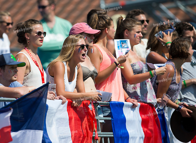03/07/2015<br /> HWL Semi Final Antwerp Belgium 2015<br /> Malaysia v France M<br /> Supporters<br /> Photo: Grant Treeby