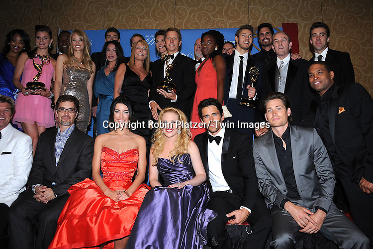 Best Show Bold and the Beautiful posing in the press room at the 38th Annual Daytime Emmy Awards  on June 19, 2011 at The Las Vegas Hilton in Las Vegas Nevada. ..