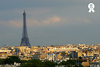 France, Paris, cityscape with Eiffel Tower (Licence this image exclusively with Getty: http://www.gettyimages.com/detail/sb10065474x-001 )