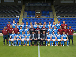 St Johnstone FC photocall Season 2016-17<br />