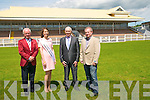 Judges For The Best Dressed Man Competition Listowel Races 2014: Sean O'Donoghue, Killarney, Kerry Rose Mary Hickey, Rathmore, Seamus Friel, Ballybunion & Pat Lyons, East River Ladies & Mens Fashions, Listowel & Abbeyfeale , sponsors of the Best Dresses Man Competition.
