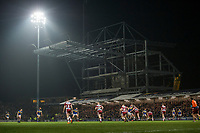 Picture by Allan McKenzie/SWpix.com - 13/04/2018 - Rugby League - Betfred Super League - Leeds Rhinos v Wigan Warriors - Headingley Carnegie Stadium, Leeds, England - A general view of Leeds playing Wigan at the Emerald Headingley Stadium.