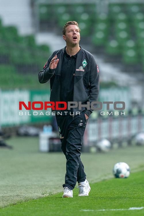 Florian Kohfeldt (Trainer SV Werder Bremen) <br /> <br /> Sport: Fussball: 1. Bundesliga: Saison 19/20: <br /> 26. Spieltag: SV Werder Bremen vs Bayer 04 Leverkusen, 18.05.2020<br /> <br /> Foto ©  gumzmedia / Nordphoto / Andreas Gumz / POOL <br /> <br /> Nur für journalistische Zwecke! Only for editorial use!<br />  DFL regulations prohibit any use of photographs as image sequences and/or quasi-video.