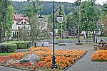 Park Zesłańców Syberyjskich, centrum miasta, Ustrzyki Dolne