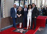 Hollywood, CA - November 06 Al Higgins, Sarah Baker, Michael Douglas, Lisa Edelstein, Chuck Lorre, Attends Michael Douglas Honored With Star On The Hollywood Walk Of Fame on November 06, 2018. <br /> CAP/MPI/FS<br /> &copy;FS/MPI/Capital Pictures